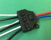 TL103 / 106    LED POWER DISTRIBUTOR --1-input + 3-outputs/6-outputs