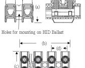 Ballast Terminal - Screwmount